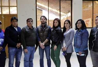 Este fue el directorio de San José que asumió el 15 de mayo. Foto: internet