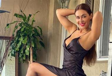 Carla Ortiz, bellísima. Fotos: Facebook