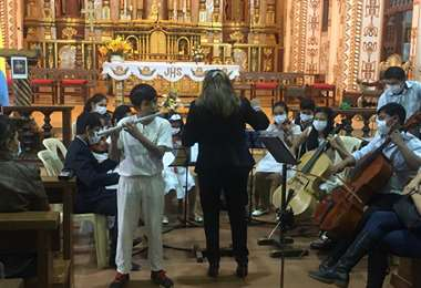 Festejos en San Ignacio de Velasco/Foto: Carlos Quinquiví