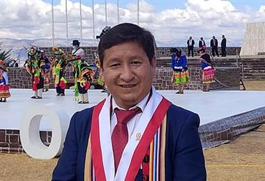 Guido Bellido, primer jefe de gabinete de Pedro Castillo. Foto. Internet