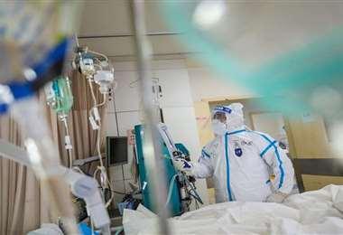 Imagen referencial: el paciente se recupera en una clínica de Cochabamba.