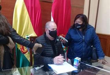 Mauricio Lea Plaza, presidente de la ALD de Tarija