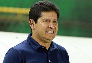 Eduardo Villegas es optimista de cara al partido ante Palmaflor. Foto: Internet