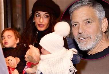 Amal y George agrandan la familia
