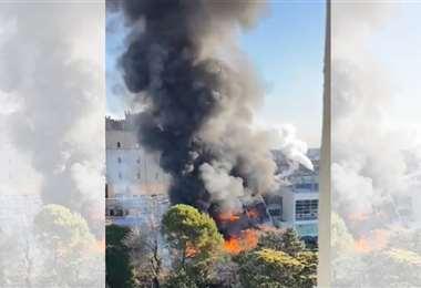 Incendio en la cervecería Quilmes, Argentina