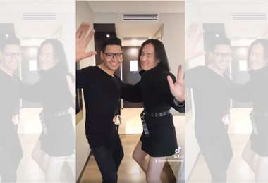 """Makoto Shishido y Gonzalo Hermosa Camacho bailando """"Llorando se fue"""""""
