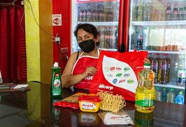 Alicorp entrega packs de reactivación con sus reconocidas marcas de alimentos y limpieza