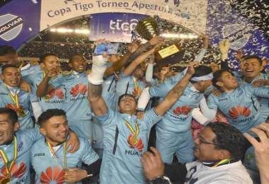 Bolívar ganó dos campeonatos en la temporada 2017. Foto: internet