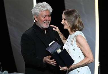 Foster fue distinguida la inauguración de la 74ª edición del festival de Cannes