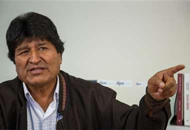 Evo Morales. Foto referencial