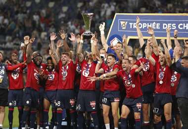 Lille se impone al PSG y le arrebata la supercopa de Francia