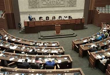 Los diputados debatiarán una Ley para ajustar el PGE 2021/Foto: ABI