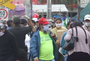 Foto archivo El Deber: este lunes 19 municipios reportaron casos de Covid.