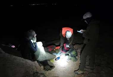 Rescate del exviceministro de Evo en el desierto de Chile | Cortesía El Mercurio
