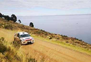 El recorrido de la carrera será a orillas del Titicaca. Foto: Febad