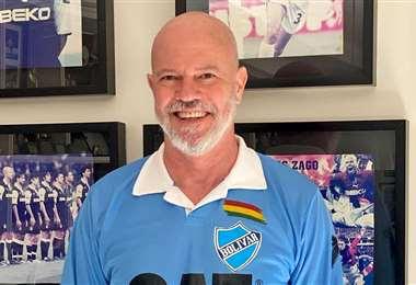 Antonio Carlos Zago, entrenador de Bolívar. Foto: Internet