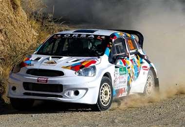 La máquina de Rodrigo Careaga, vencedor absoluto. Foto: Jordy Ugarte