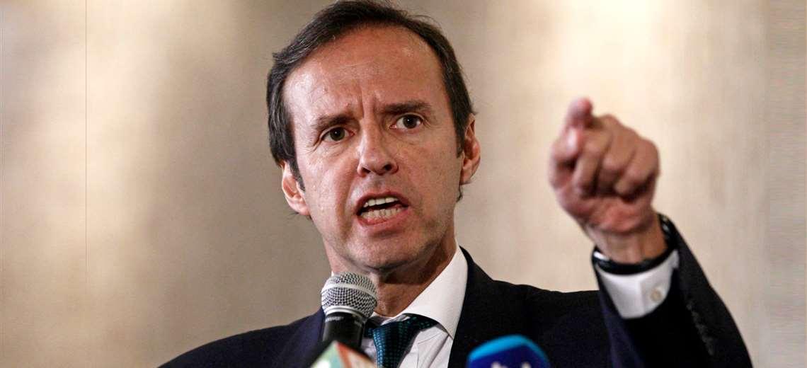 Jorge Tuto Quiroga, expresidente de Bolivia