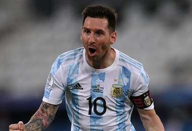 Lionel Messi, capitán de la selección argentina. Foto: Internet