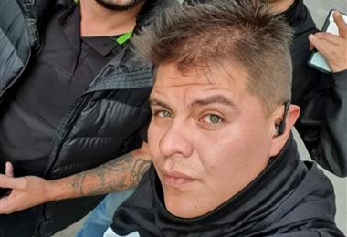 Yassir Molina, detenido en la cárcel de Sucre. Foto. Internet