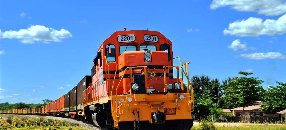 La región oriental de Bolivia cuenta con sus vías férreas expeditas (Foto: FO)