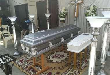 Velan los cuerpos en El Palmar, zona Los Lotes