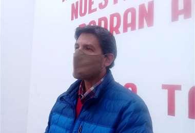 Adrián Ávila, presidente del Comité ProIntereses de Tarija