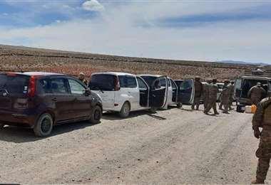 Foto archivo El Deber: los autos chutos ingresan por zonas fronterizas del occidente.