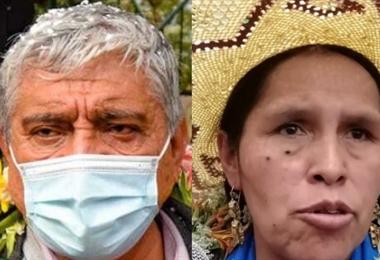 Iván Arias y Sabina Orellana I archivo.