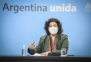 Carla Vizzotti, ministra de Salud argentina