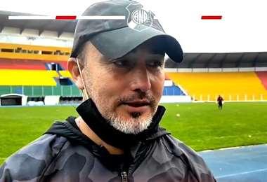 Flabio Robbato había asumido como DT de Nacional el 13 de abril. Foto: Internet