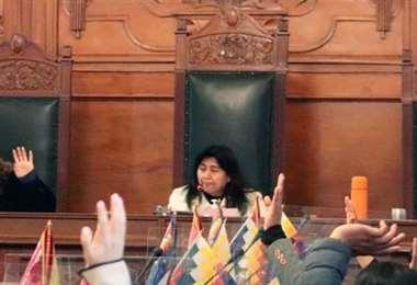 Fue la última sesión que tuvieron los senadores en este hemiciclo