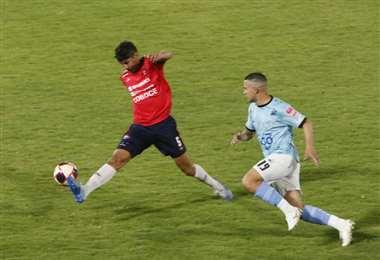 Wilstermann y Aurora juegan en el Félix Capriles. Foto. APG