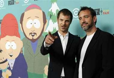Trey Parker y Matt Stone, creadores de South Park