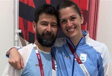 Lucas Saucedo le pidió matrimonio a María Belén Pérez. Foto: Internet