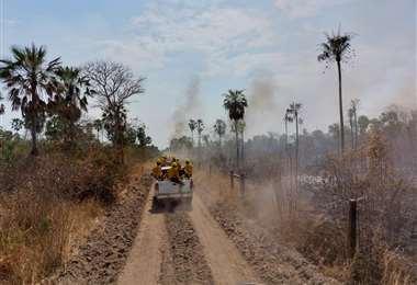 El municipio de San Matías es el más afectado por los incendios según el Gobierno nacional