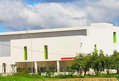 En noviembre se reabrirá el hospital de Montero, EL DEBER