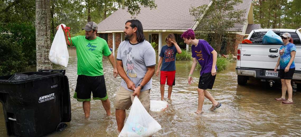 Los desastres climáticos se quintuplicaron en los últimos 50 años. Foto AFP