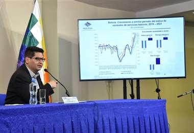 Montenegro destacó la recuperación económica