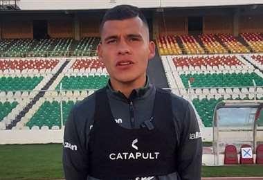 Moisés Villarroel, jugador de la selección boliviana. Foto: Internet