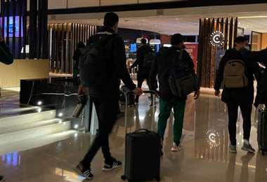 La delegación de Bolivia lleva una semana fuera de casa. Foto: FBF