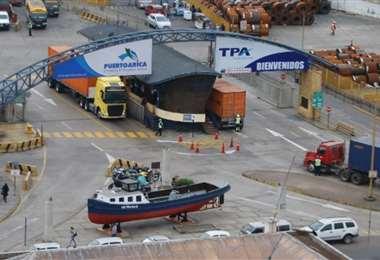 Puerto de Arica otra vez escenario de tensiones (Foto Internet)