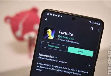 Epic busca retorno de videojuego Fortnite a Apple Store
