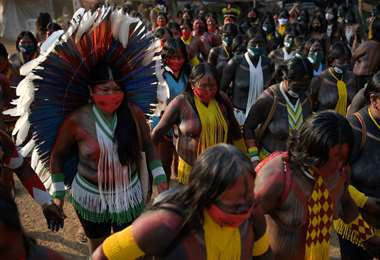 Indígenas de Brasil /Foto: AFP