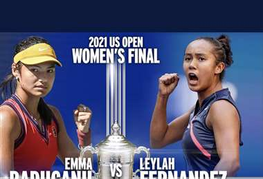 Las dos nuevas joyas del tenis. Foto: US Open