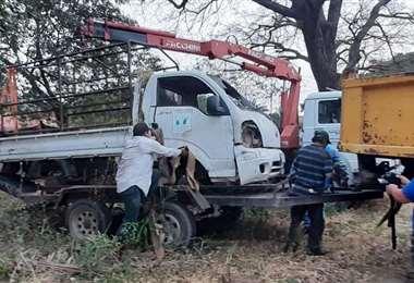 Días atrás, retiraron vehículos del municipio de un taller. ARCHIVO