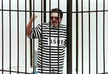 Abimael Guzman cuando fue capturado