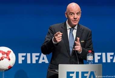 Gianni Infantino, presidente de la FIFA. Foto: Internet