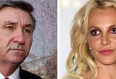 Jamie y su hija Britney, a quien ya no administrará sus bienes