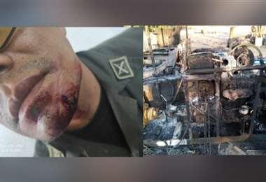 Policías fueron emboscados en Guarayos